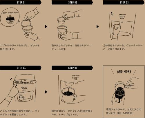 フレシャス「Slat+cafe(スラット+カフェ)」使い方